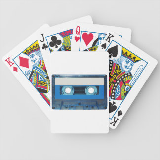 Tape cassette transparent background bicycle playing cards