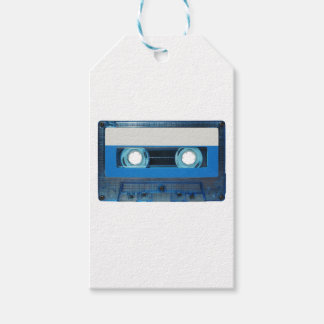 Tape cassette transparent background gift tags