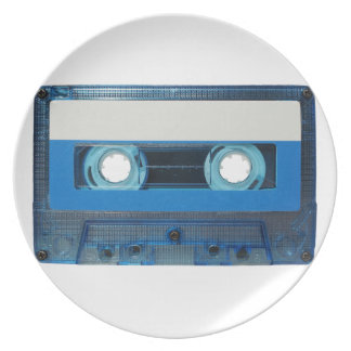 Tape cassette transparent background plate