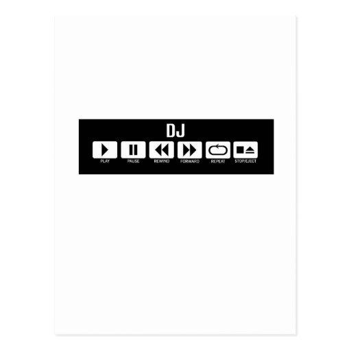 Tape Deck - DJ Post Card