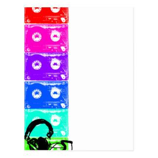 Tape Deck Postcard