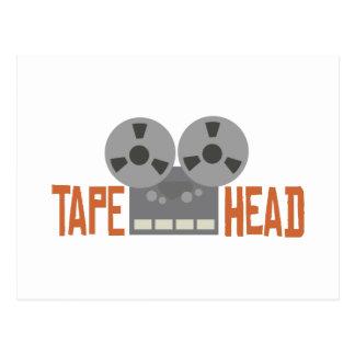 Tape Head Postcard