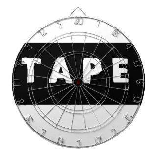 Tape logo dartboard