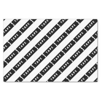Tape logo tissue paper