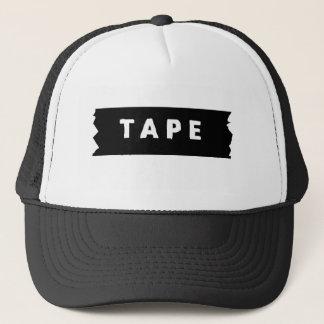 Tape logo trucker hat