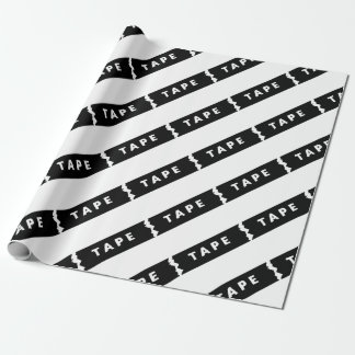 Tape logo wrapping paper
