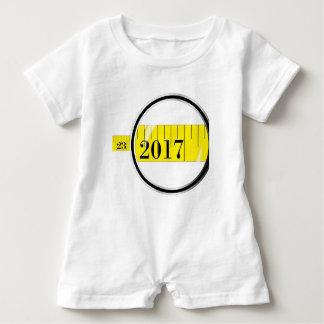 Tape Measure 2017 Baby Romper