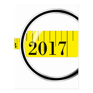 Tape Measure 2017 Postcard