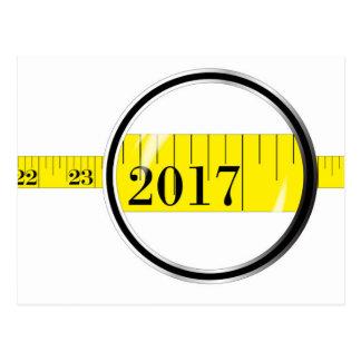 Tape Measure 2017 Postcard