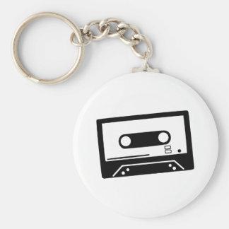Tape - Music Basic Round Button Keychain