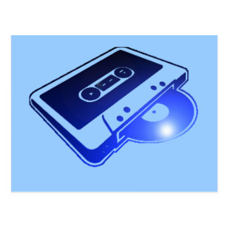Tape n Record Postcard