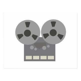 Tape Player Postcard