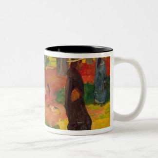 Taperaa Mahana, 1892 Two-Tone Coffee Mug