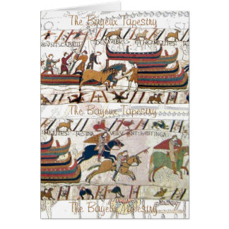 Tapestry - Bayeux - 11th Century Card