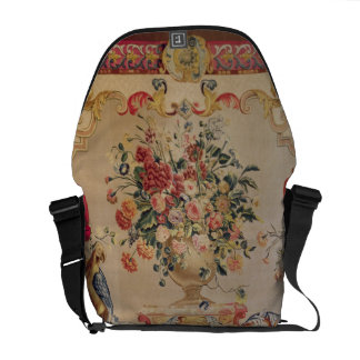 Tapestry in early Rococo style with strapwork and Messenger Bag