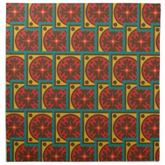Tapestry pattern napkin