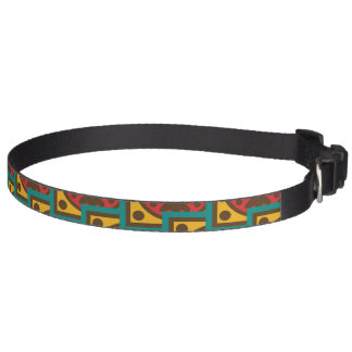Tapestry pattern pet collar