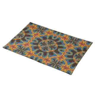 Tapestry pattern placemat