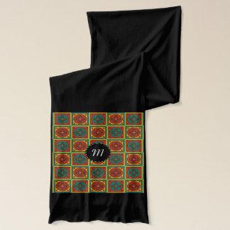 Tapestry pattern scarf