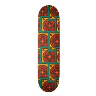 Tapestry pattern skateboards