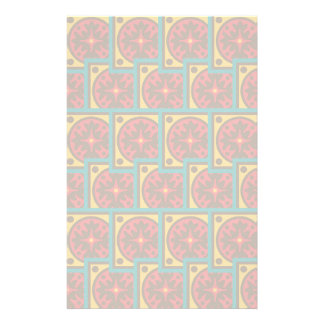 Tapestry pattern stationery
