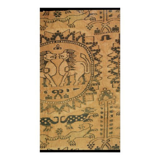 Tapestry, Western Asian,  7th-8th century Print