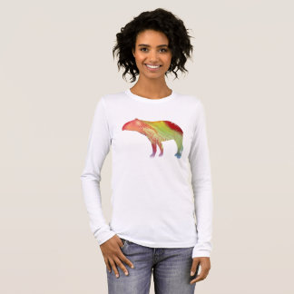Tapir art long sleeve T-Shirt