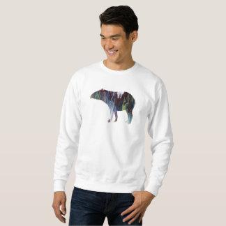 Tapir art sweatshirt