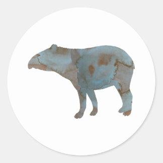 Tapir Classic Round Sticker
