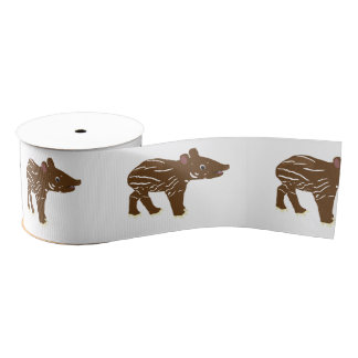 Tapir Grosgrain Ribbon