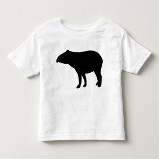 Tapir silhouette toddler t-shirt