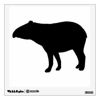 Tapir silhouette wall sticker