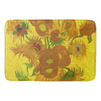 Tapis De Bain Tournesols de Van Gogh quinze en beaux-arts de