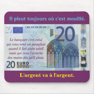 "tapis de souris ""20 euros"""