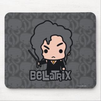 Tapis De Souris Art de personnage de dessin animé de Bellatrix