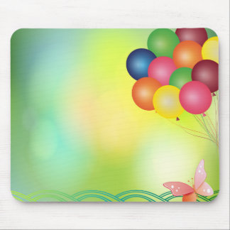 Tapis De Souris Ballons de tache floue