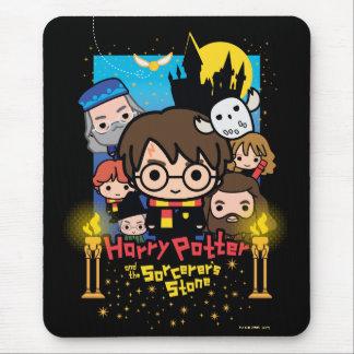 Tapis De Souris Bande dessinée Harry Potter et la pierre du