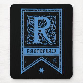 Tapis De Souris Bannière de monogramme de Harry Potter | Ravenclaw