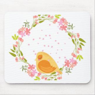 Tapis De Souris Carte de voeux BIRD