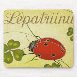 Tapis de souris de coccinelle de Lepatriinu