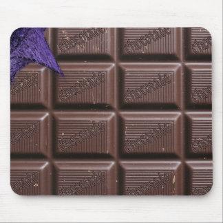 tapis de souris de mousepad de chocolat - barre de