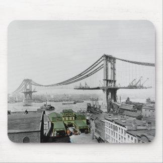 Tapis de souris de pont de Manhattan