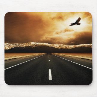 Tapis de souris de route de liberté
