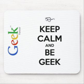 "Tapis de souris ""Geek"""
