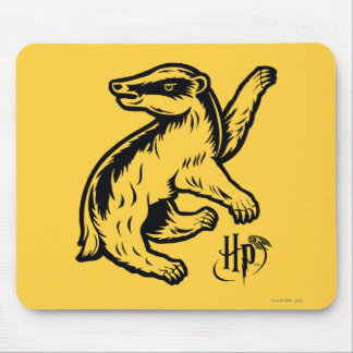 Tapis De Souris Icône de blaireau de Harry Potter | Hufflepuff
