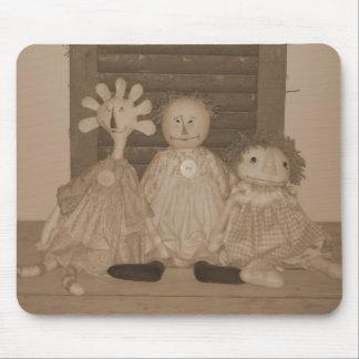 Tapis de souris - les premières petites dames de l