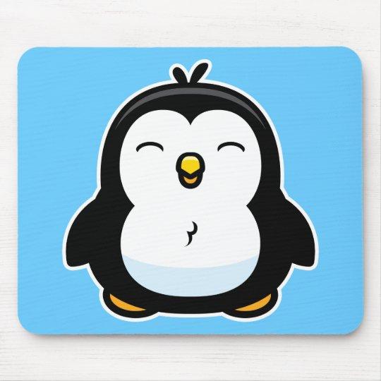 Tapis De Souris Pingouin de bébé de bande dessinée