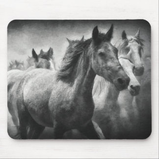 Tapis De Souris Ruée Mousepad de cheval
