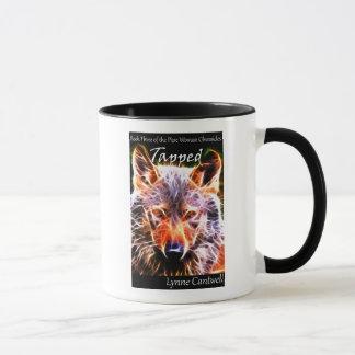 Tapped coffee mug