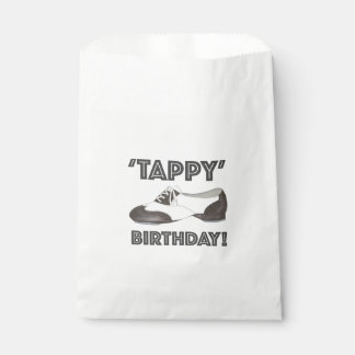 Tappy Happy Birthday Bday Tap Dance Tapdance Shoe Favour Bag
